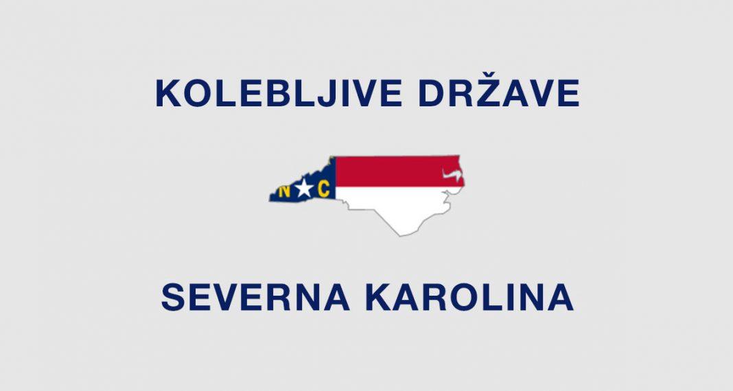 Kolebljiva država Severna Karolina